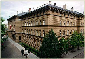 Building of the Saeima